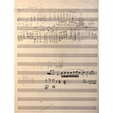 ohn Coltrane – Handwritten Musical Manuscript 2